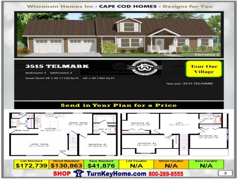 Modular.Home.Catalog.Wisconsin.Homes.Inc.Cape.Cod.Telmark.3515.2.P3.1215.p