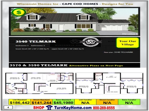 Modular.Home.Catalog.Wisconsin.Homes.Inc.Cape.Cod.Telmark.3540.1.P4.1215.p