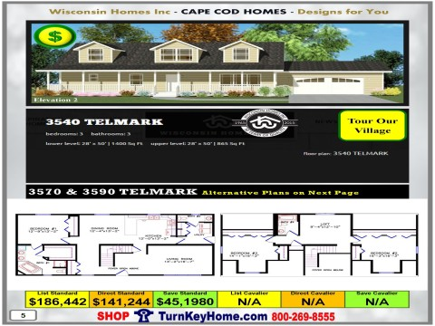 Modular.Home.Catalog.Wisconsin.Homes.Inc.Cape.Cod.Telmark.3540.2.P5.1215.p