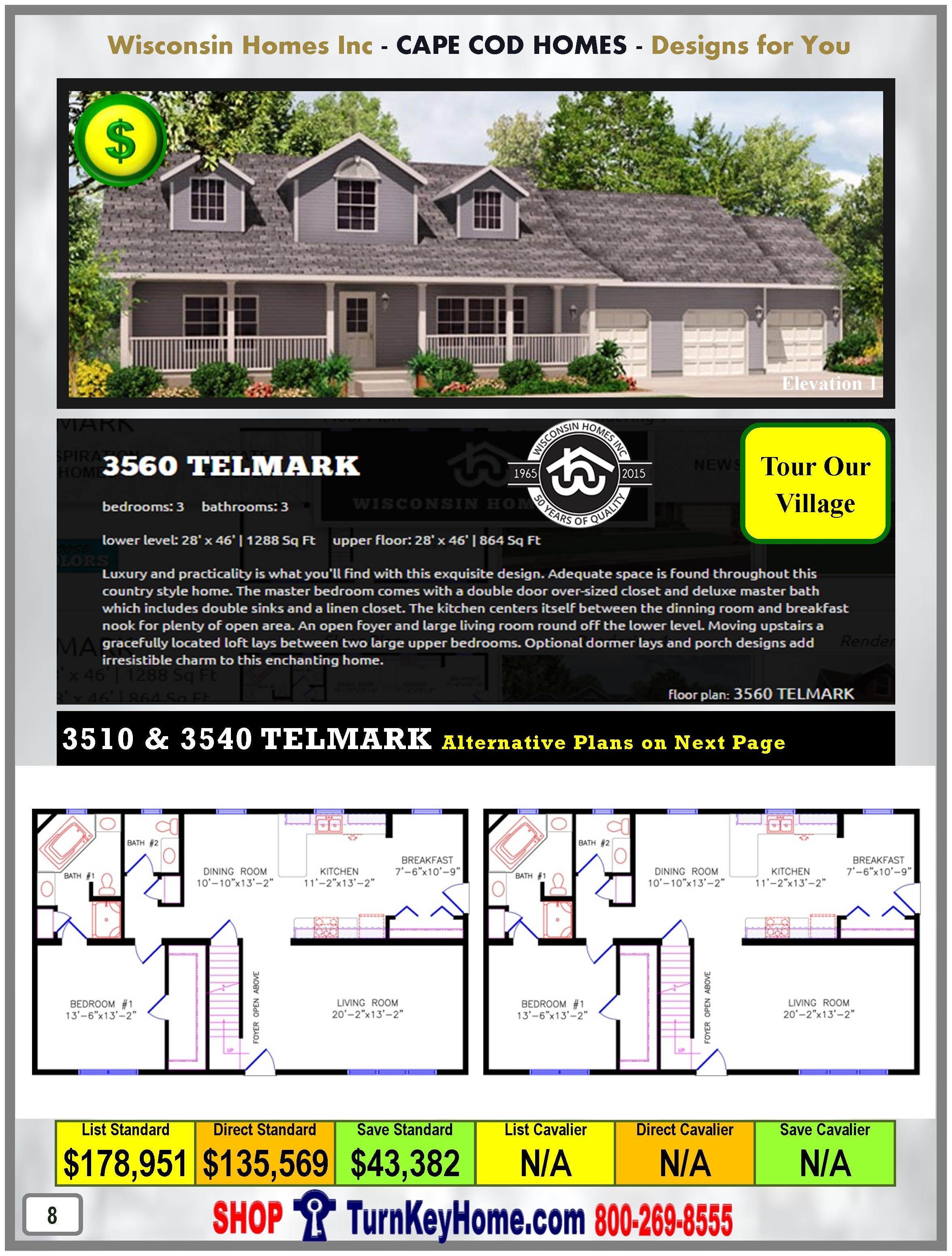 Modular.Home.Catalog.Wisconsin.Homes.Inc.Cape.Cod.Telmark.3560.1.P8.1215