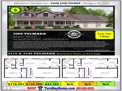 Modular.Home.Catalog.Wisconsin.Homes.Inc.Cape.Cod.Telmark.3560.1.P8.1215.p