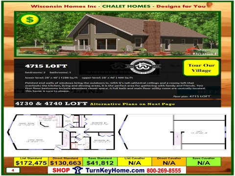 Modular.Home.Catalog.Wisconsin.Homes.Inc.Chalet.Loft.4715.1.P4.1215.p