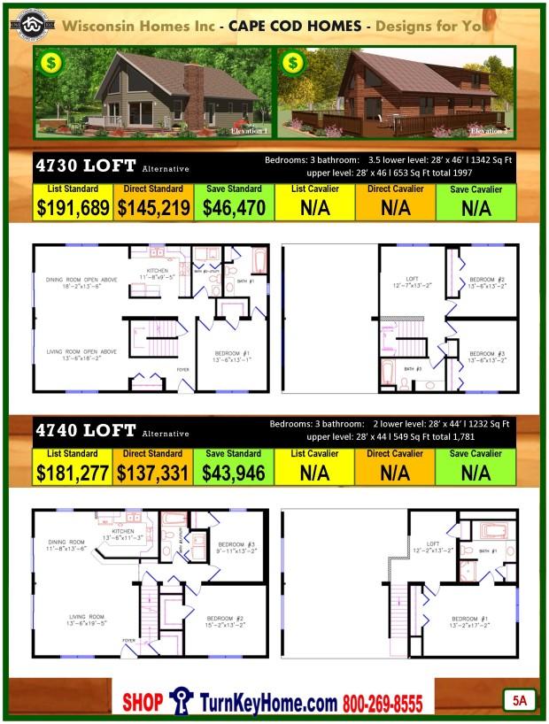 Modular.Home.Catalog.Wisconsin.Homes.Inc.Chalet.Loft.4730.4710.P5A.1215