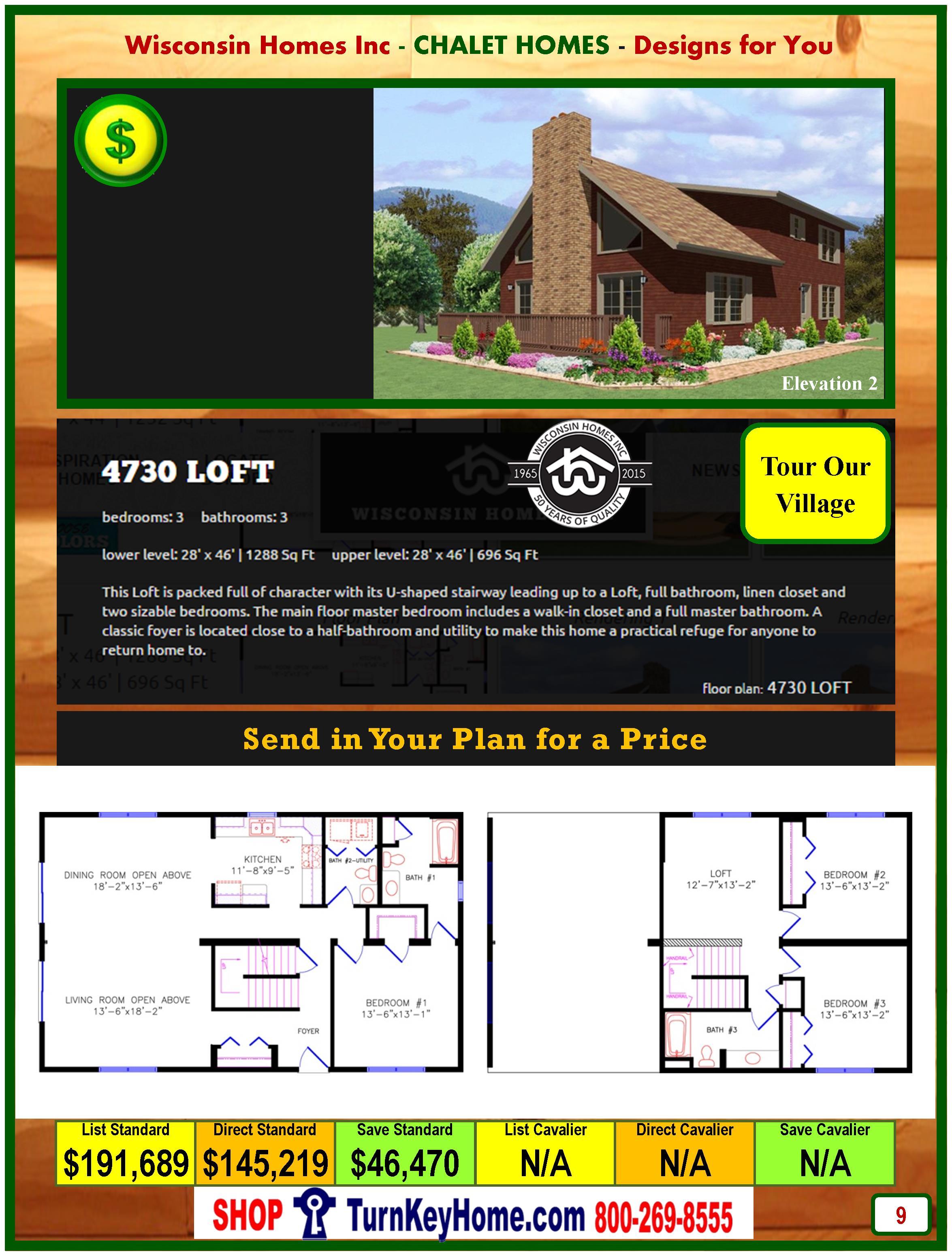 Modular.Home.Catalog.Wisconsin.Homes.Inc.Chalet.Loft.4730.P9.2.1215