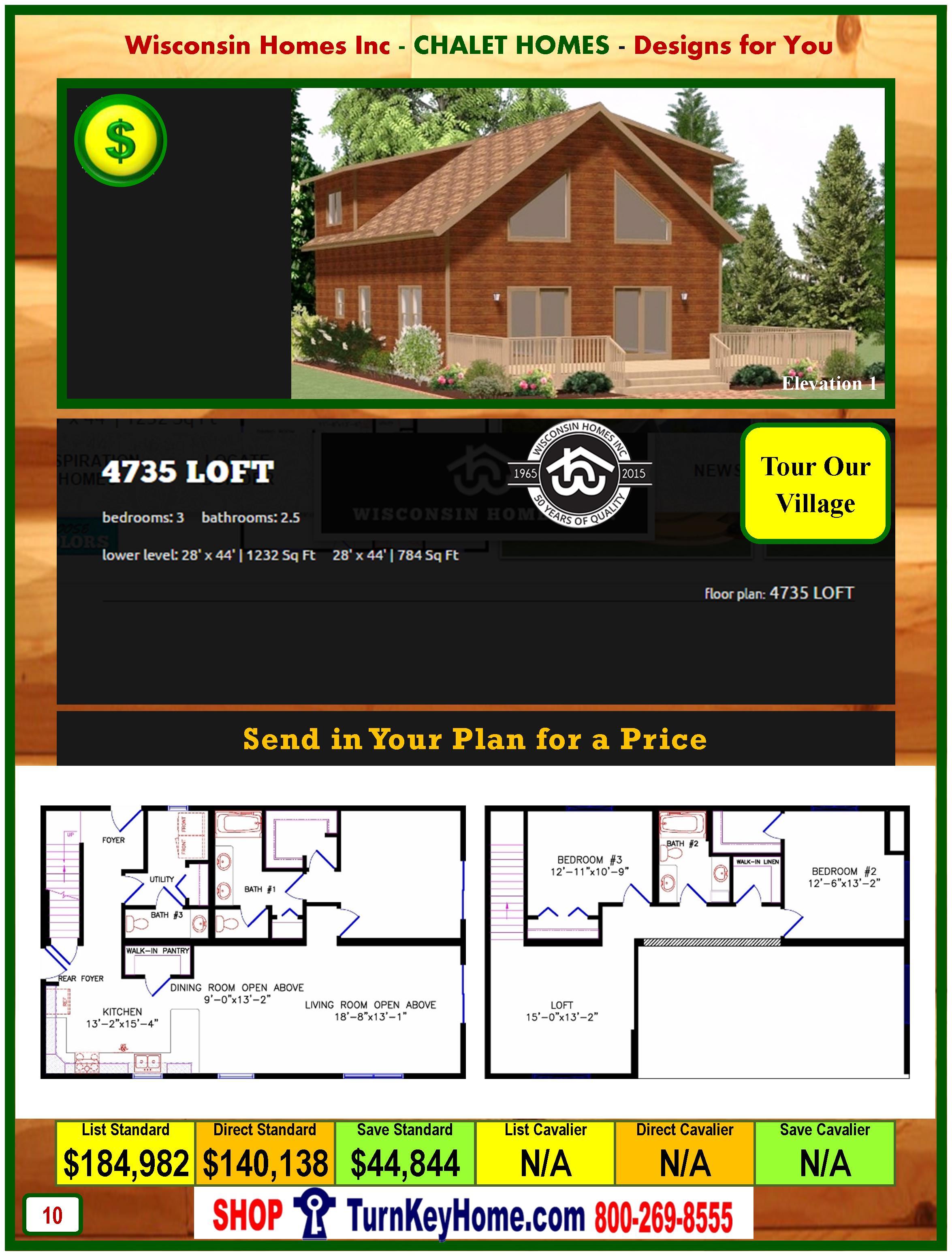 Modular.Home.Catalog.Wisconsin.Homes.Inc.Chalet.Loft.4735.P10.1.1215