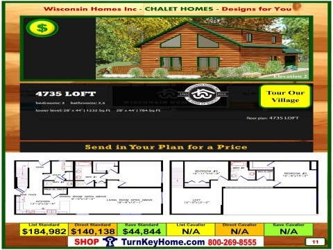 Modular.Home.Catalog.Wisconsin.Homes.Inc.Chalet.Loft.4735.P11.2.1215.p