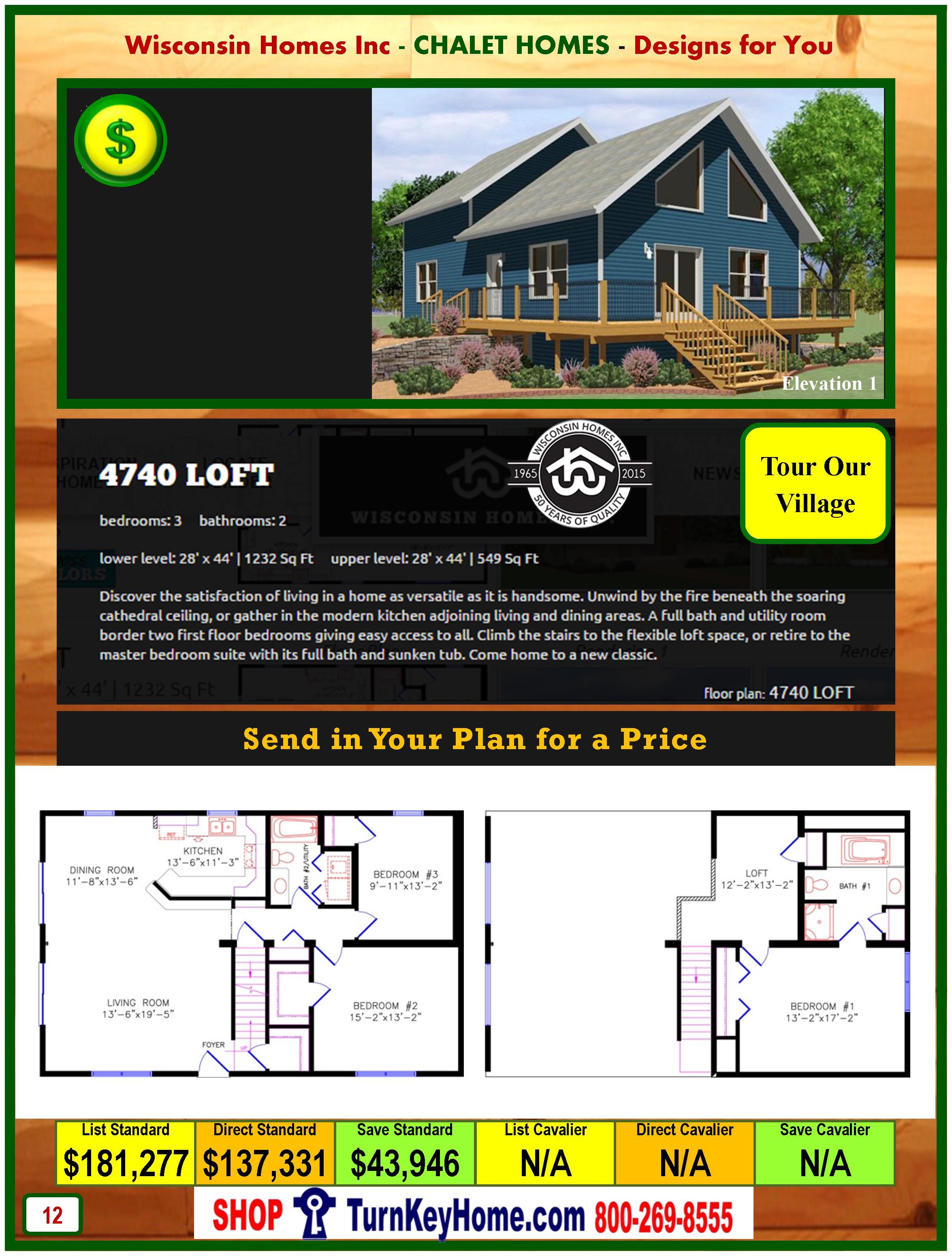 Modular.Home.Catalog.Wisconsin.Homes.Inc.Chalet.Loft.4740.P12.1.1215