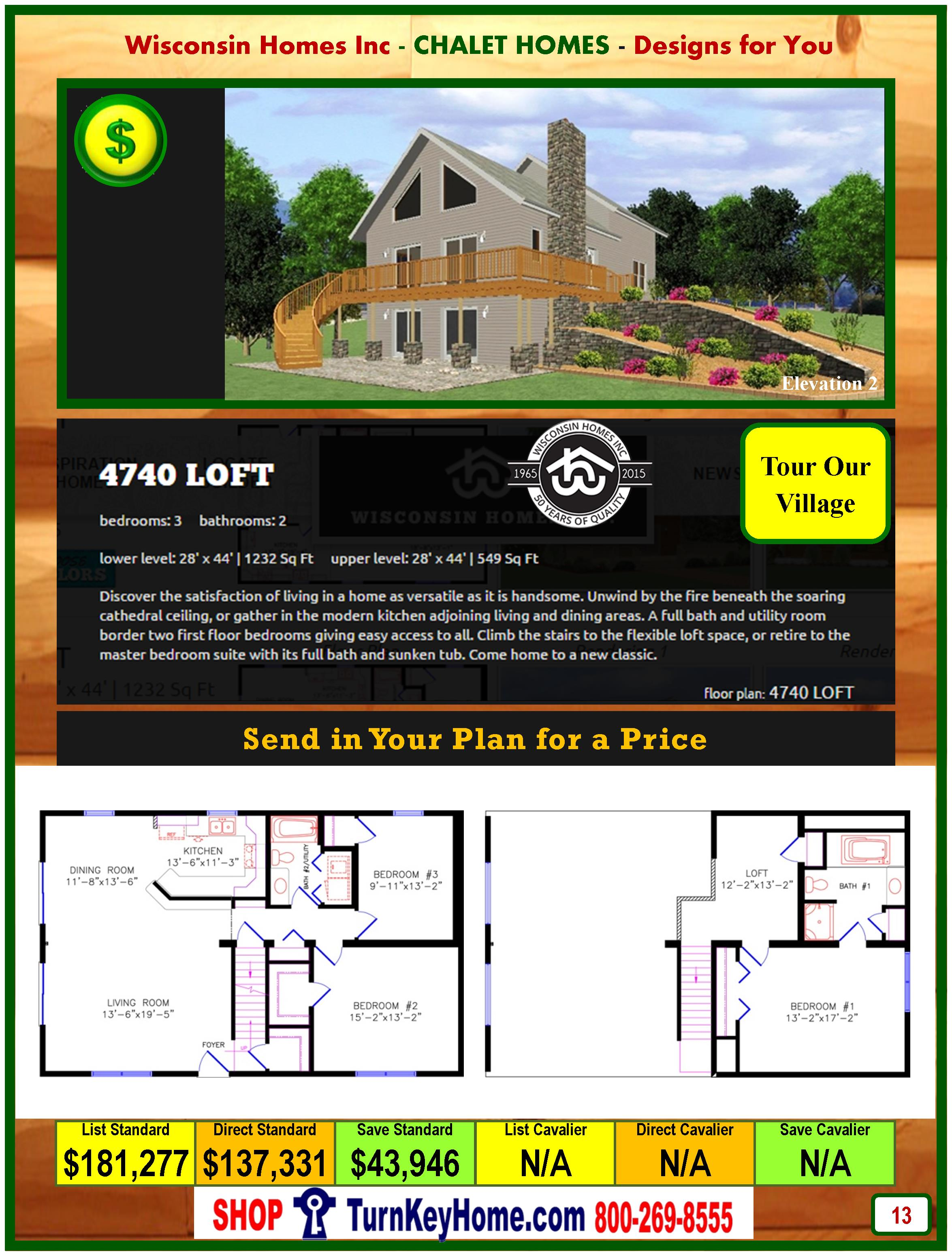Modular.Home.Catalog.Wisconsin.Homes.Inc.Chalet.Loft.4740.P13.2.1215
