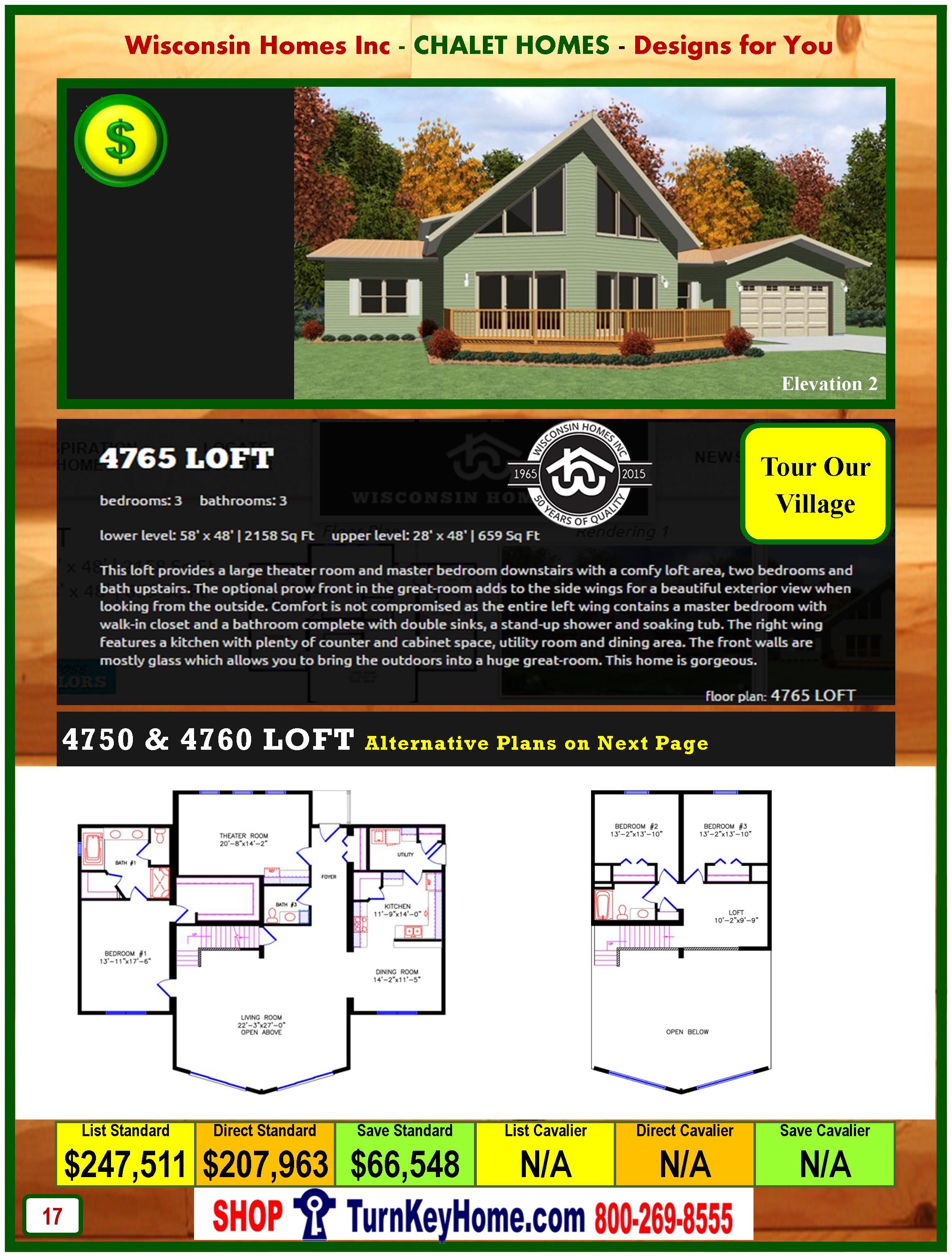 Modular.Home.Catalog.Wisconsin.Homes.Inc.Chalet.Loft.4765.P17.2.1215