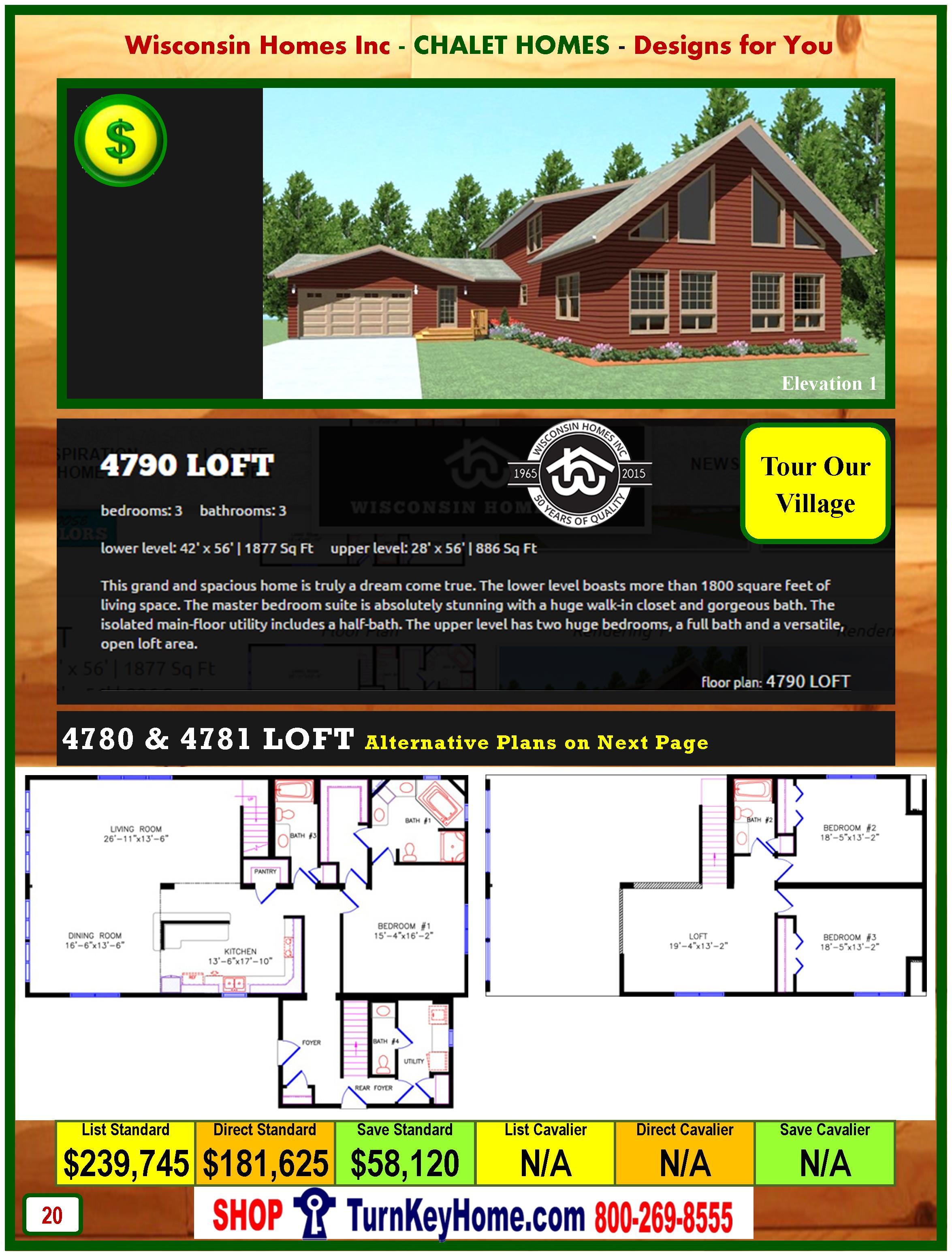 Modular.Home.Catalog.Wisconsin.Homes.Inc.Chalet.Loft.4790.P20.1.1215