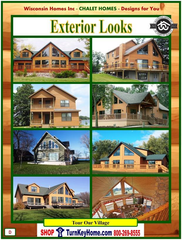 Modular.Home.Catalog.Wisconsin.Homes.Inc.Chalet.Loft.Exterior.Pictures.P.D.1215