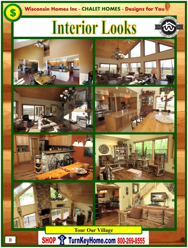 Modular.Home.Catalog.Wisconsin.Homes.Inc.Chalet.Loft.Interior.Pictures.P.B.1215