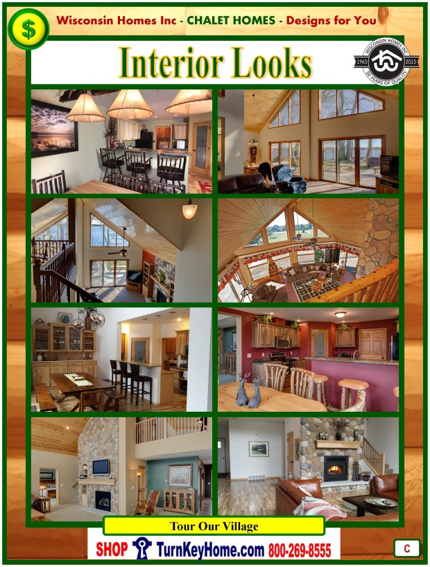 Modular.Home.Catalog.Wisconsin.Homes.Inc.Chalet.Loft.Interior.Pictures.P.C.1215