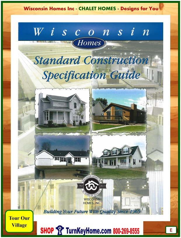 Modular.Home.Catalog.Wisconsin.Homes.Inc.Chalet.Loft.Standards.P.E.1215