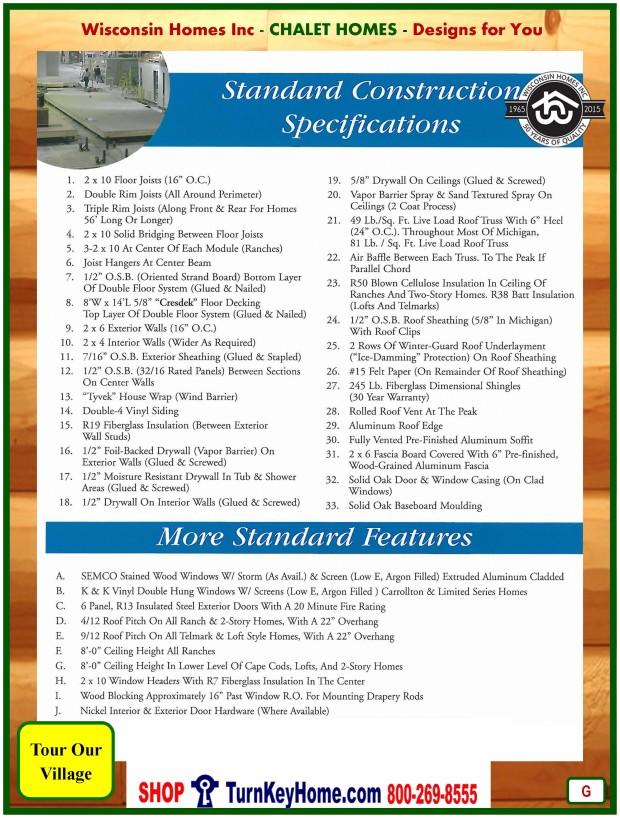 Modular.Home.Catalog.Wisconsin.Homes.Inc.Chalet.Loft.Standards.P.G.1215
