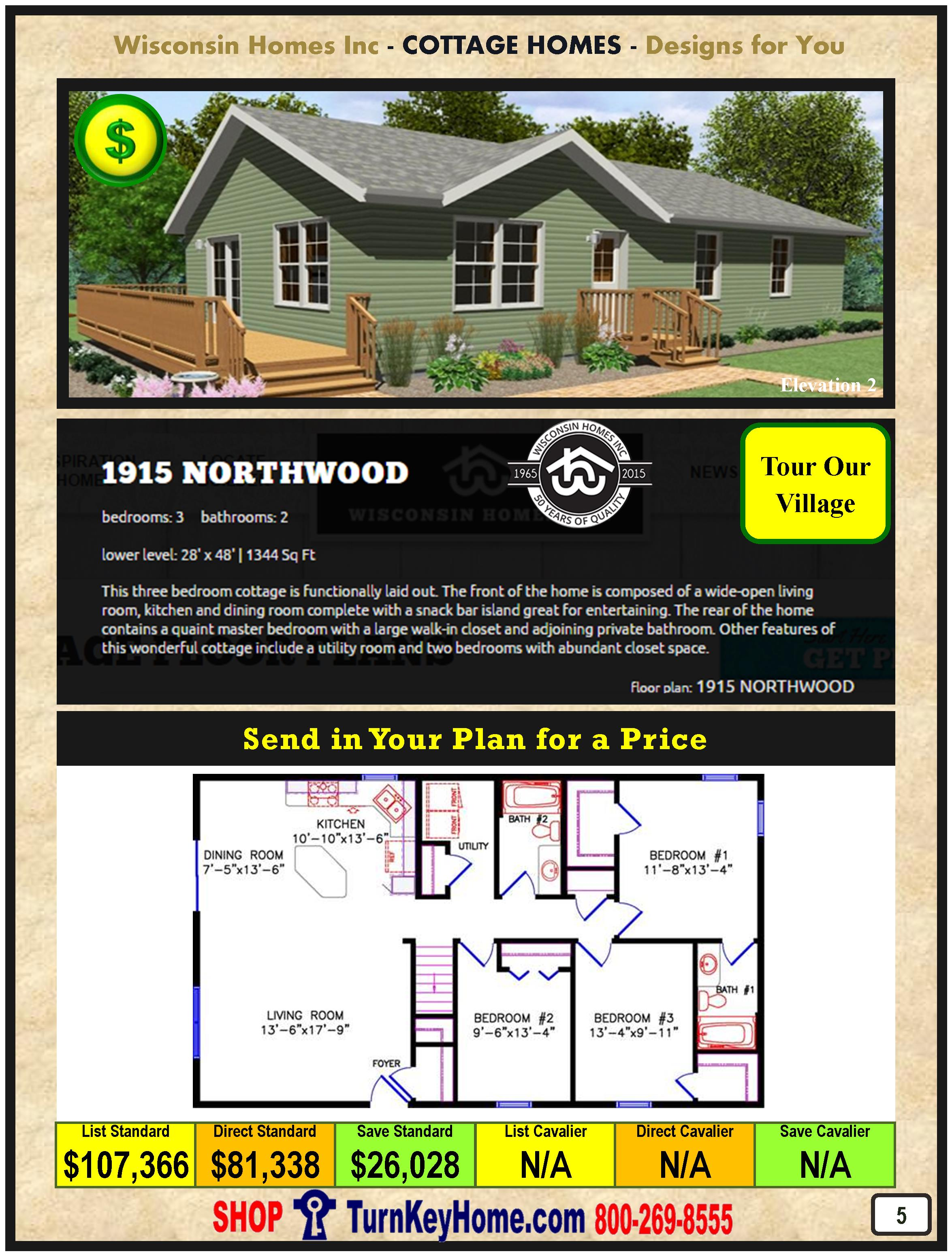 Modular.Home.Catalog.Wisconsin.Homes.Inc.Cottage.Northwood.1915.1.P5.1215