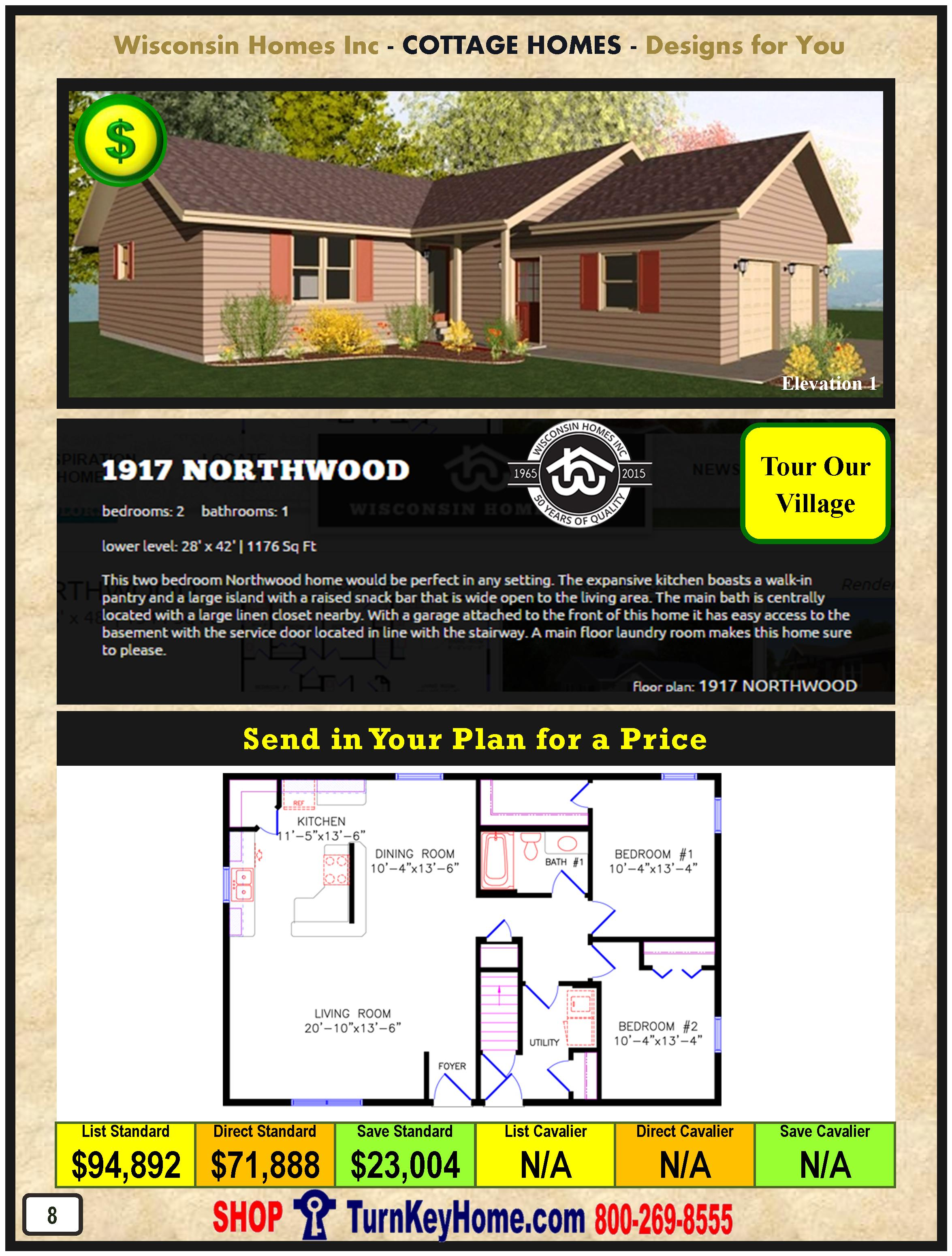 Modular.Home.Catalog.Wisconsin.Homes.Inc.Cottage.Northwood.1917.1.P8.1215