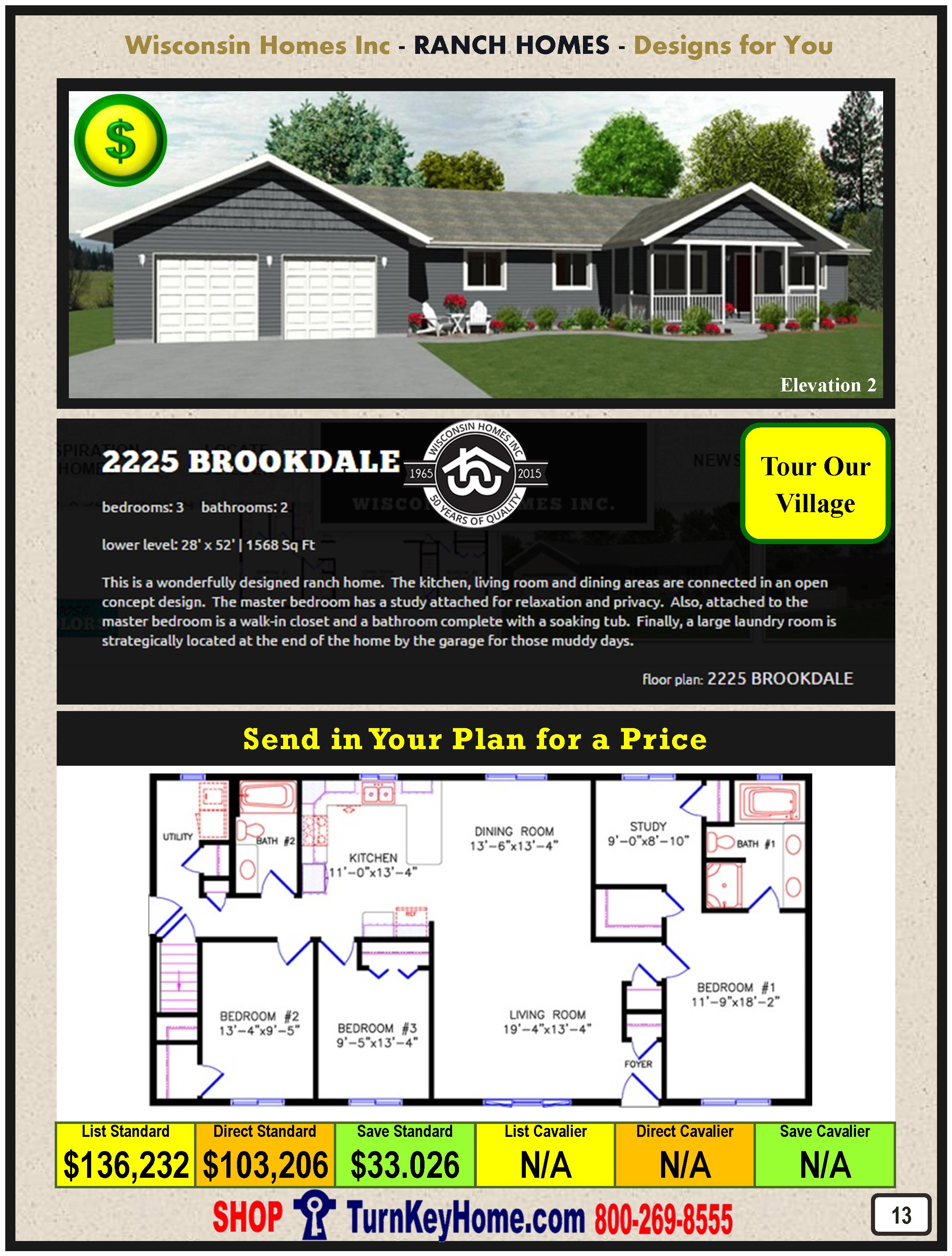 Modular.Home.Catalog.Wisconsin.Homes.Inc.Ranch.Brookdale.2225.2.P13.1215