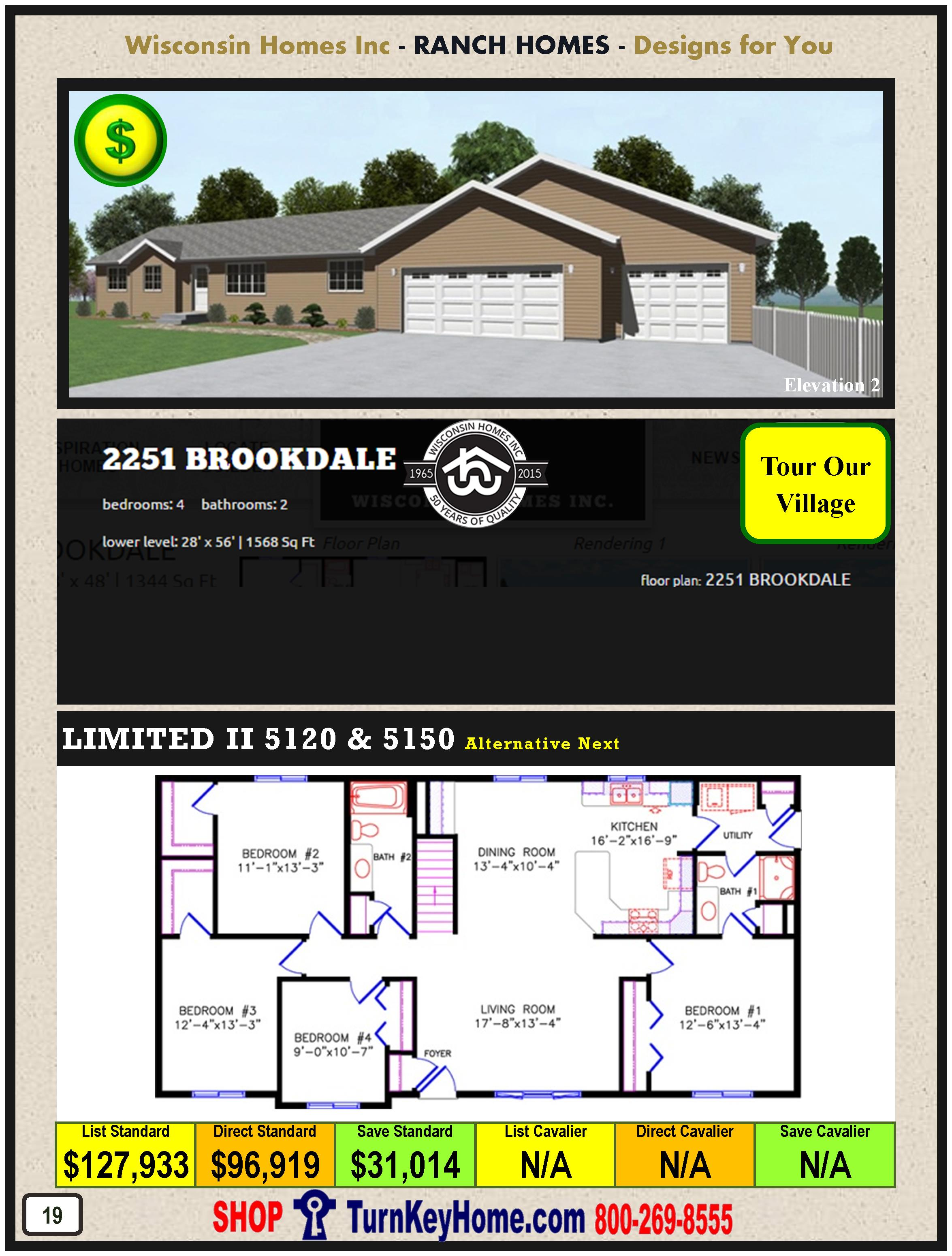 Modular.Home.Catalog.Wisconsin.Homes.Inc.Ranch.Brookdale.2251.2.P19.1215