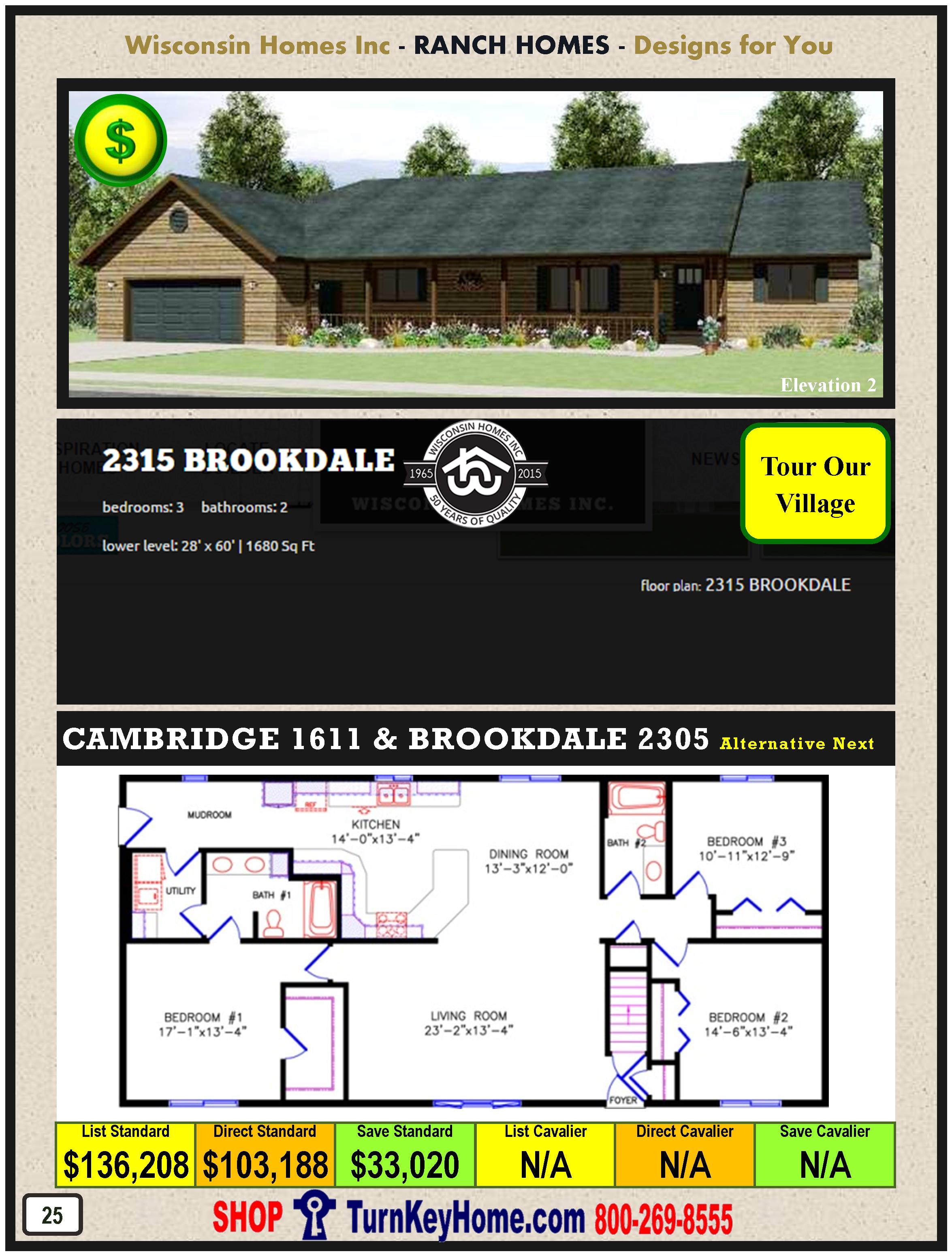 Modular.Home.Catalog.Wisconsin.Homes.Inc.Ranch.Brookdale.2315.2.P25.1215