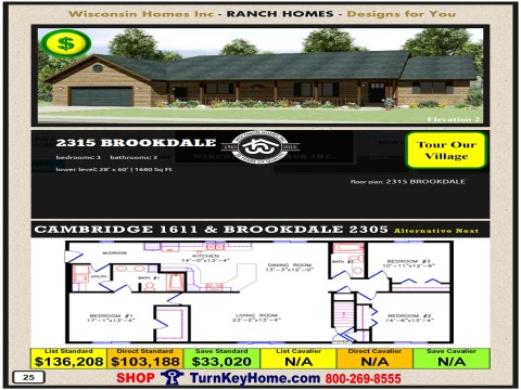 Modular.Home.Catalog.Wisconsin.Homes.Inc.Ranch.Brookdale.2315.2.P25.1215.p