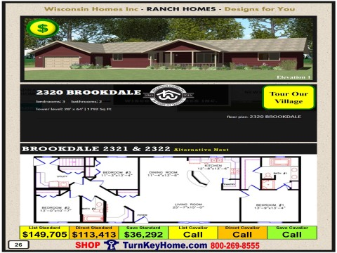 Modular.Home.Catalog.Wisconsin.Homes.Inc.Ranch.Brookdale.2320.1.P26.1215.p