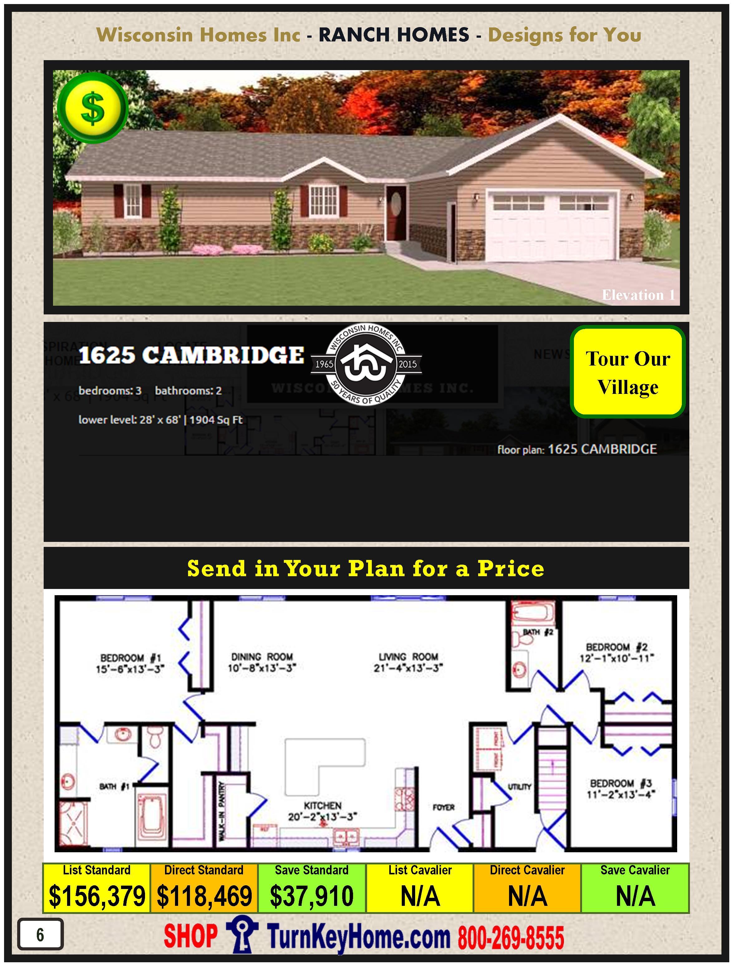 Modular.Home.Catalog.Wisconsin.Homes.Inc.Ranch.Cambridge.1625.1.P6.1215