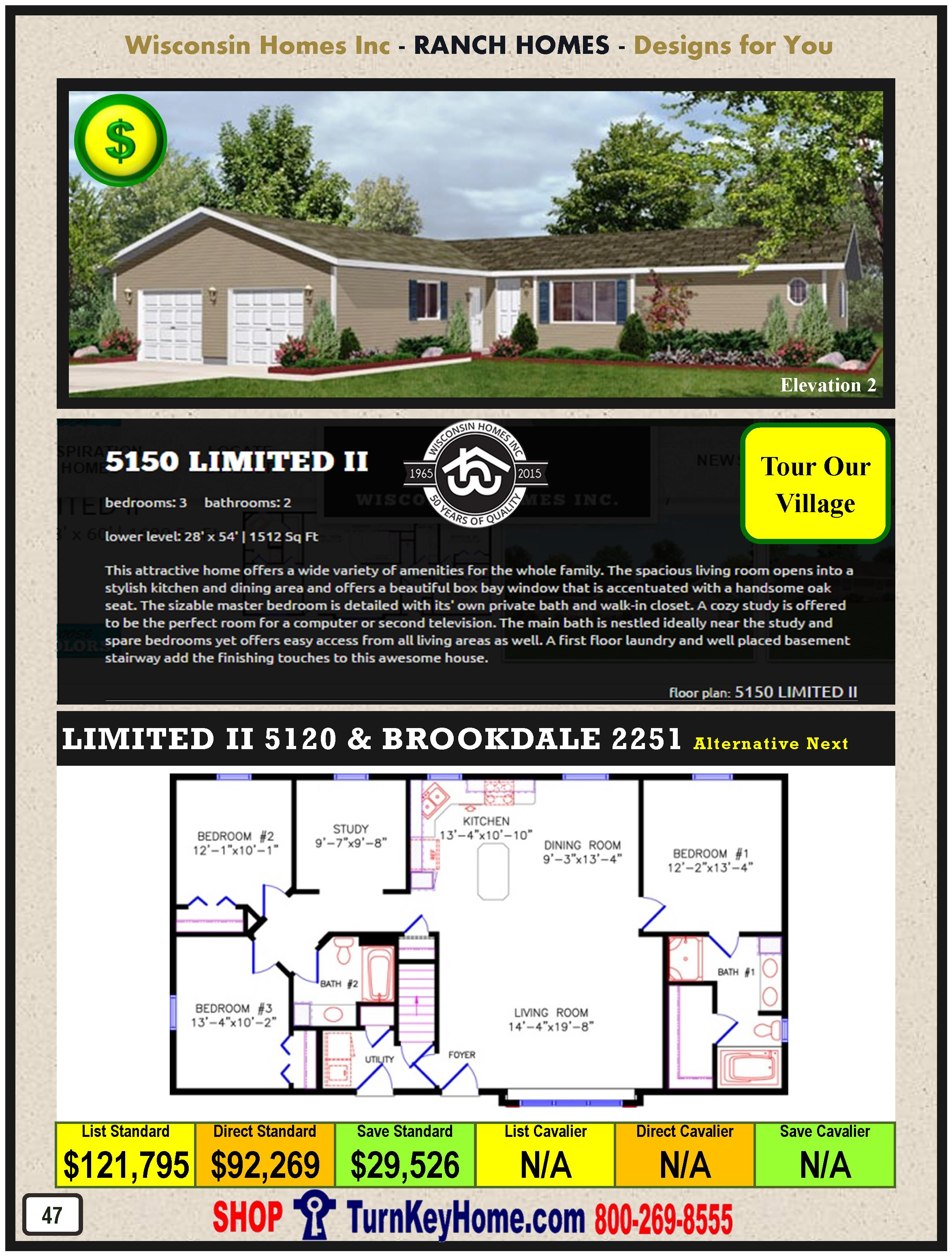 Modular.Home.Catalog.Wisconsin.Homes.Inc.Ranch.Limited.II.5150.2.P47.1215
