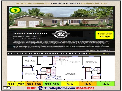 Modular.Home.Catalog.Wisconsin.Homes.Inc.Ranch.Limited.II.5150.2.P47.1215.p