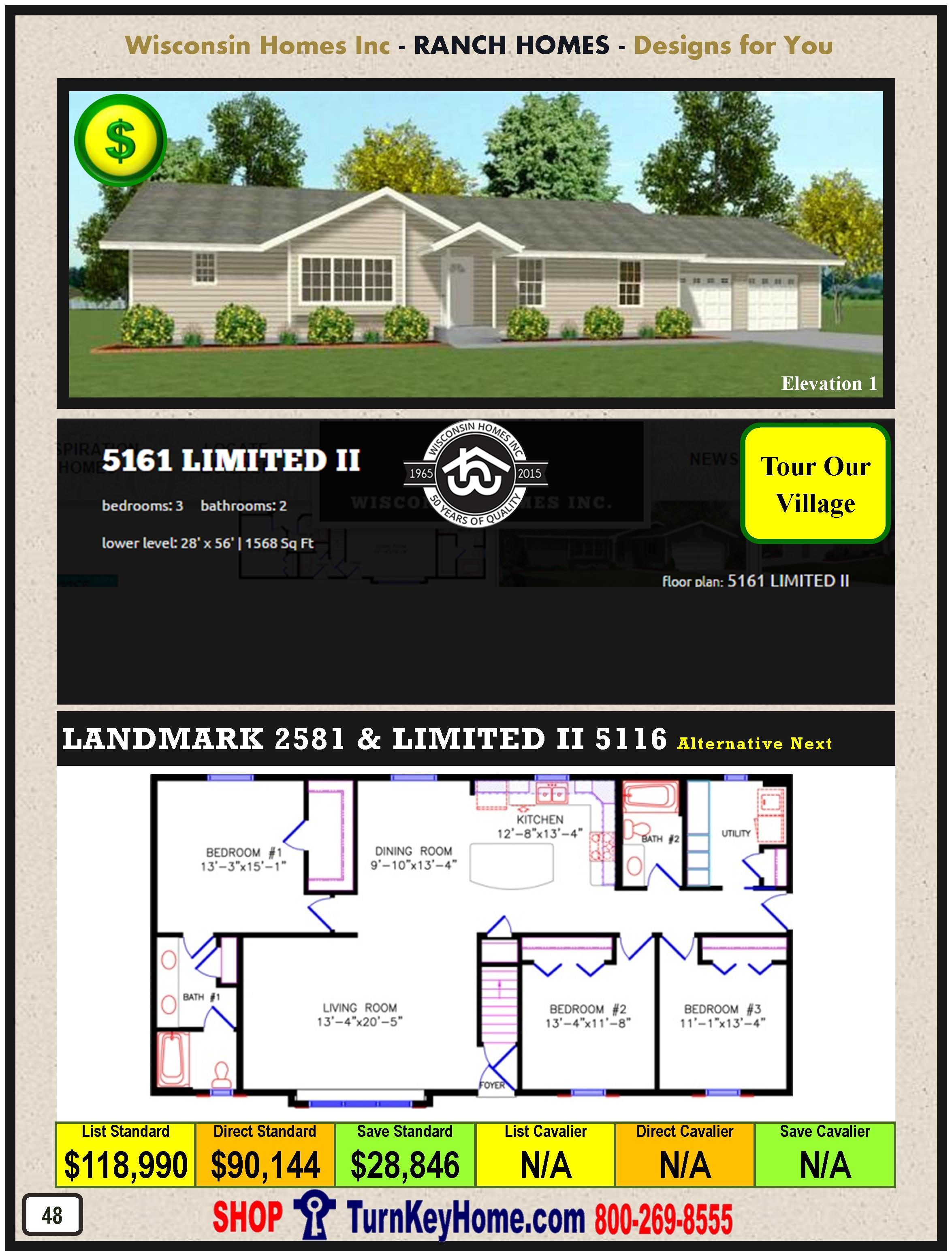 Modular.Home.Catalog.Wisconsin.Homes.Inc.Ranch.Limited.II.5161.1.P48.1215