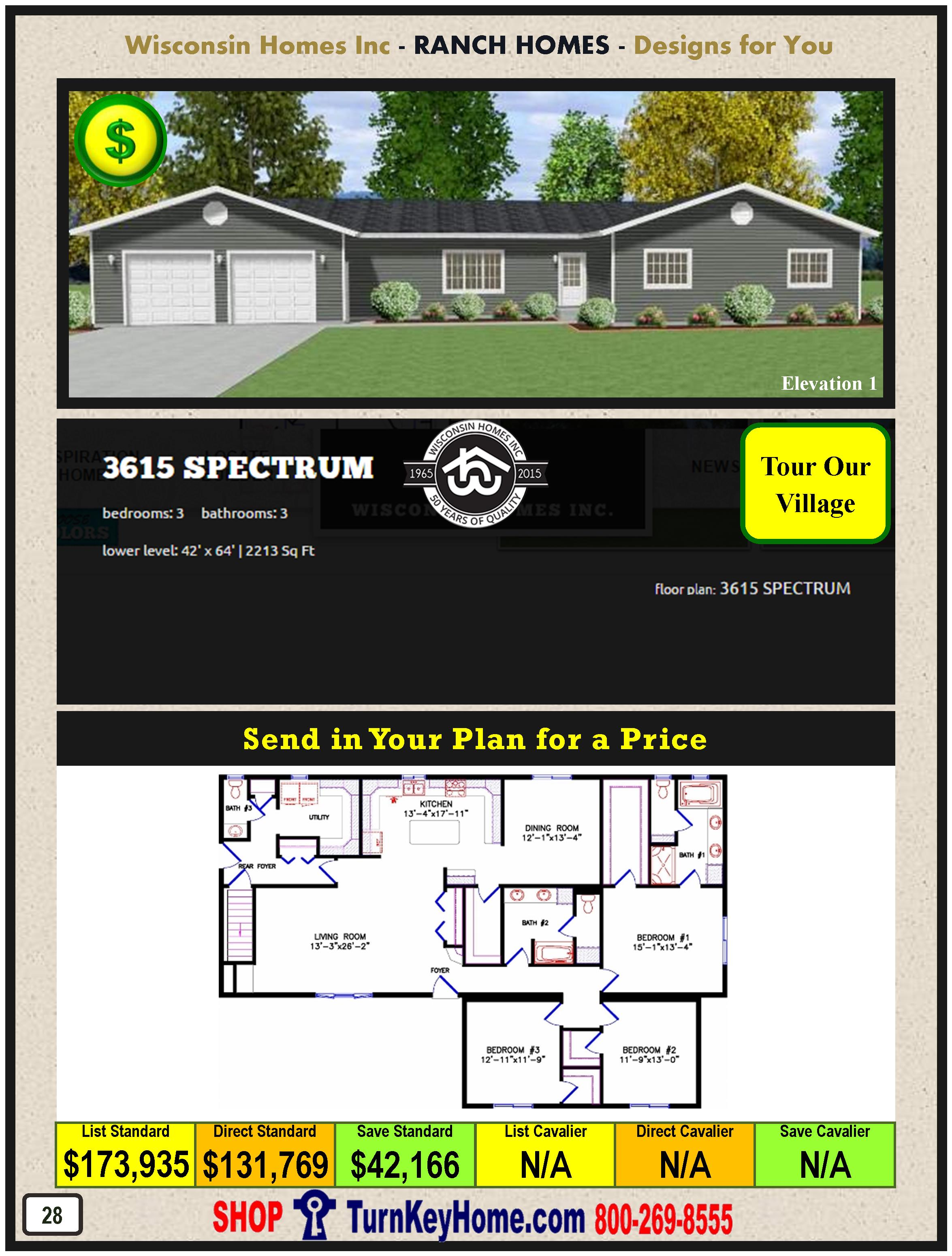 Modular.Home.Catalog.Wisconsin.Homes.Inc.Ranch.Spectrum.3615.1.P28.1215