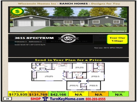 Modular.Home.Catalog.Wisconsin.Homes.Inc.Ranch.Spectrum.3615.1.P28.1215.p