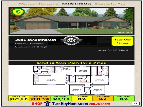Modular.Home.Catalog.Wisconsin.Homes.Inc.Ranch.Spectrum.3615.2.P29.1215.p