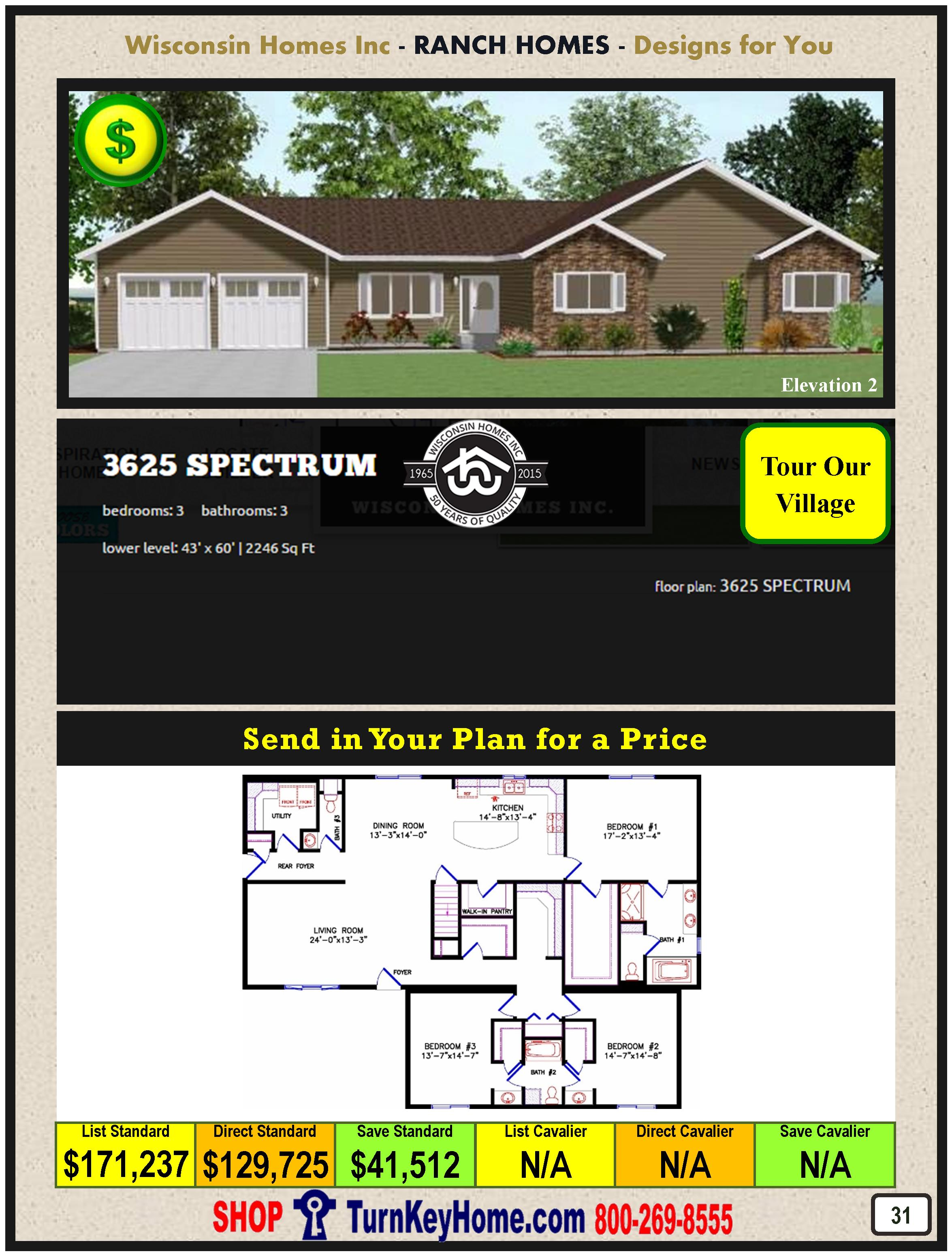 Modular.Home.Catalog.Wisconsin.Homes.Inc.Ranch.Spectrum.3625.2.P31.1215
