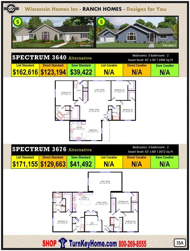 Modular.Home.Catalog.Wisconsin.Homes.Inc.Ranch.Spectrum.3640.3676.P35A.1215