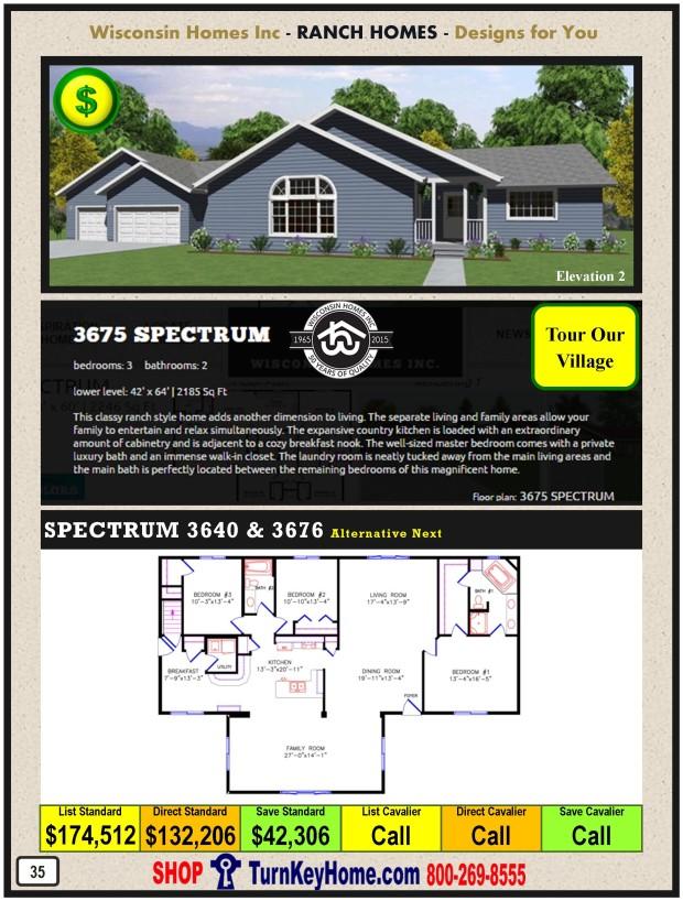 Modular.Home.Catalog.Wisconsin.Homes.Inc.Ranch.Spectrum.3675.2.P35.1215