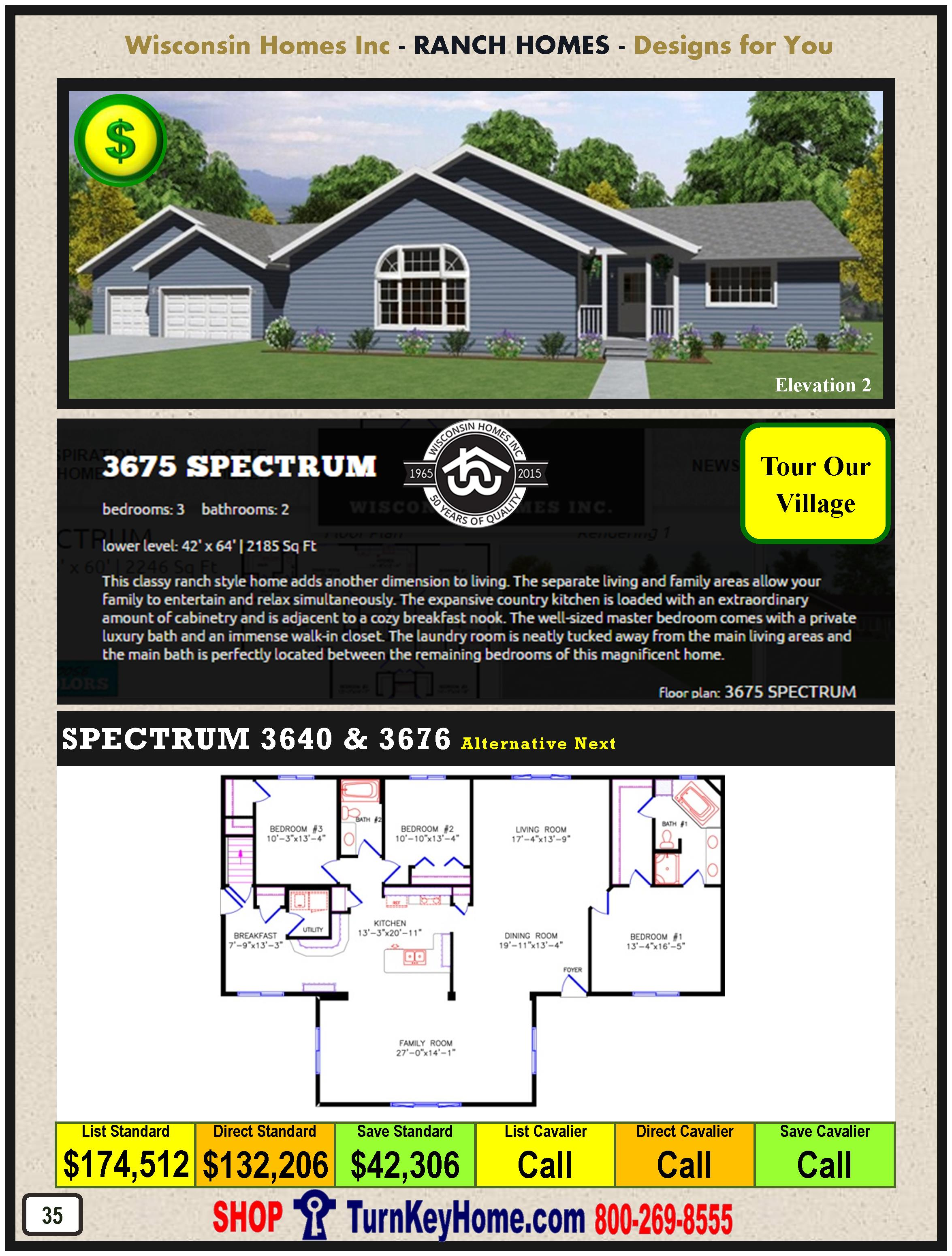 Modular.Home.Catalog.Wisconsin.Homes.Inc.Ranch.Spectrum.3675.2.P35.1215