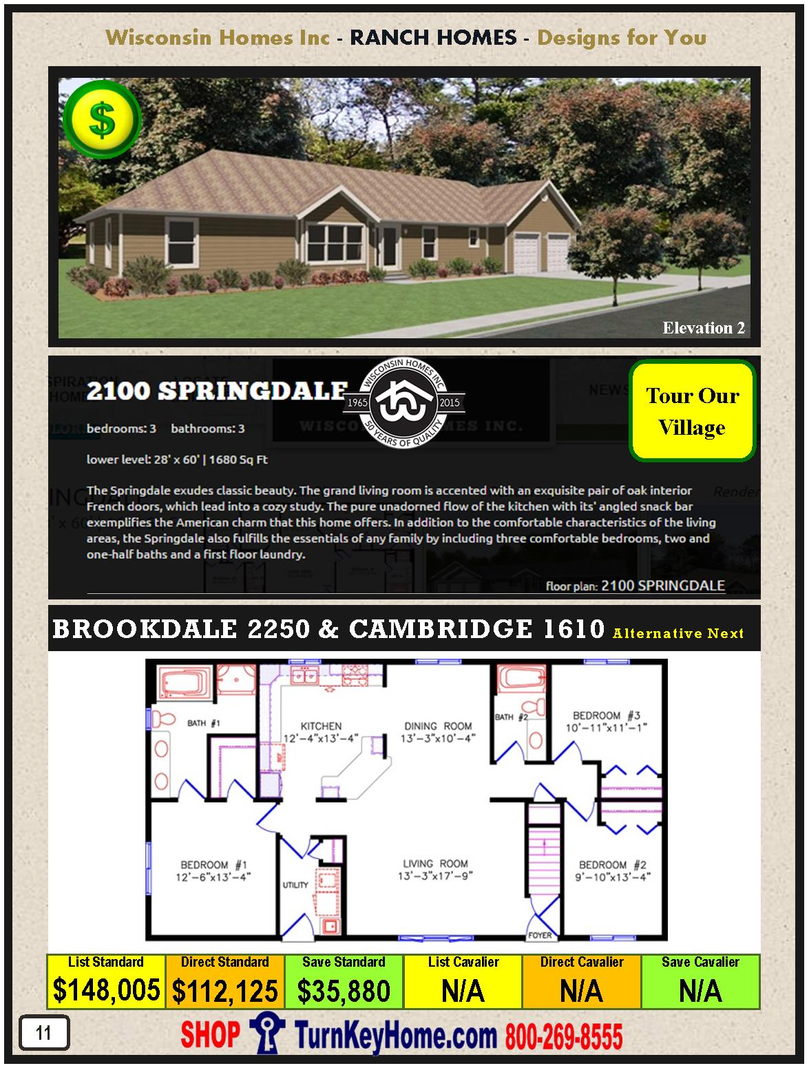 Modular.Home.Catalog.Wisconsin.Homes.Inc.Ranch.Springdale.2100.2.P11.1215