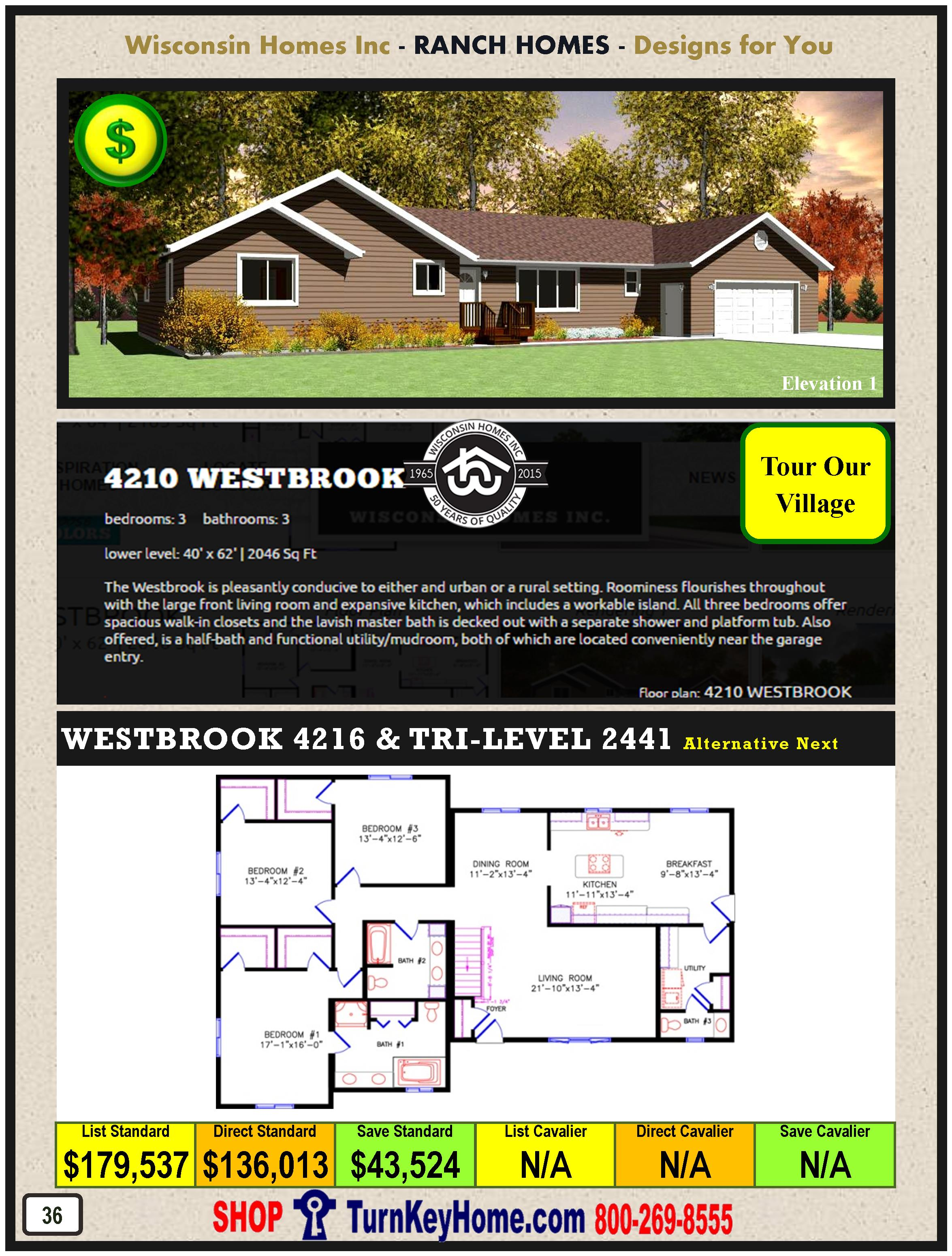 Modular.Home.Catalog.Wisconsin.Homes.Inc.Ranch.Westbrook.4210.1.P36.1215