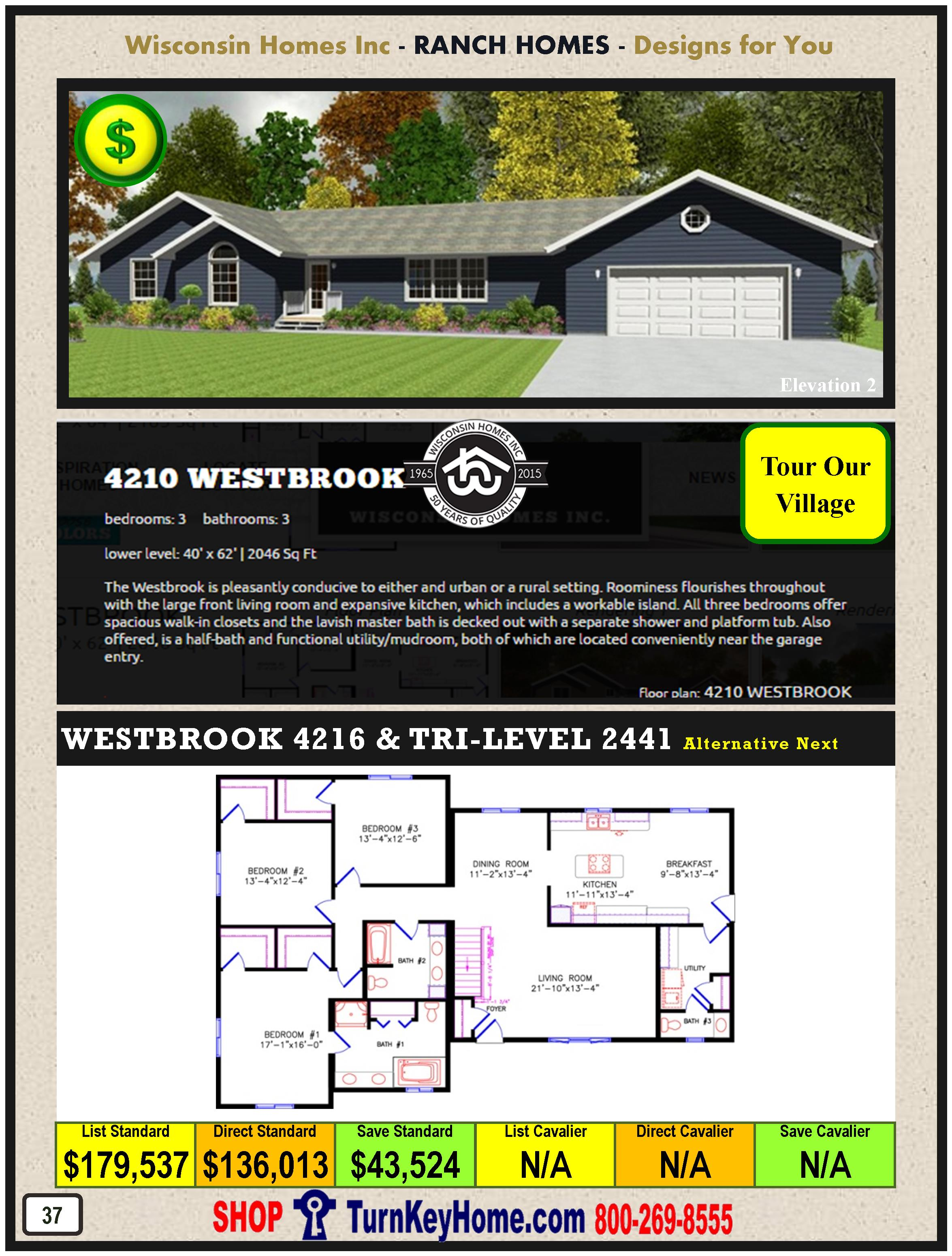 Modular.Home.Catalog.Wisconsin.Homes.Inc.Ranch.Westbrook.4210.2.P37.1215