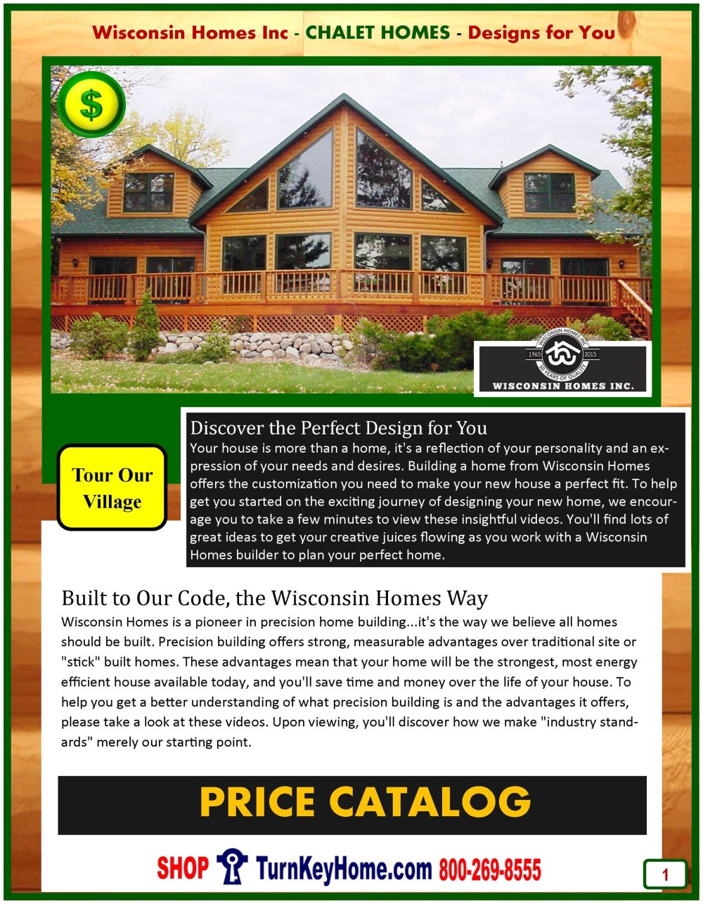 Chalet Modular Home Prices From Wisconsin Homes Inc Chalet