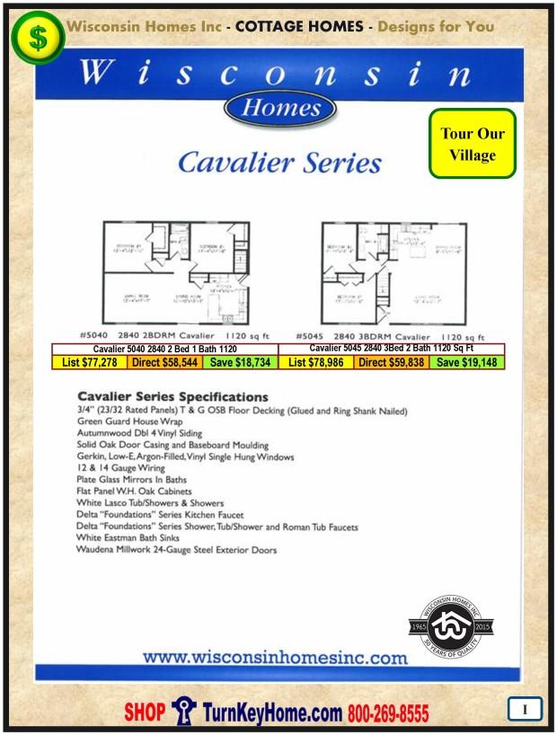 Modular.Home.Plan.Price.Catalog.Wisconsin.Homes.Inc.Cottage.Cavaliar.Standards.PI.1215