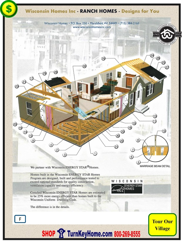 Modular.Home.Plan.Price.Catalog.Wisconsin.Homes.Inc.Ranch.Standards.PF.1215