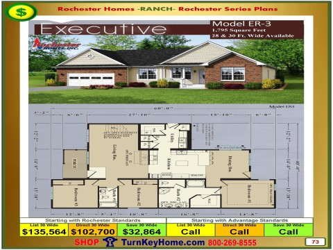 Modular.Homes.Rochester.Home.Inc.Executive.ER3.Ranch.Plan.Price.Catalog.P73.1215.p