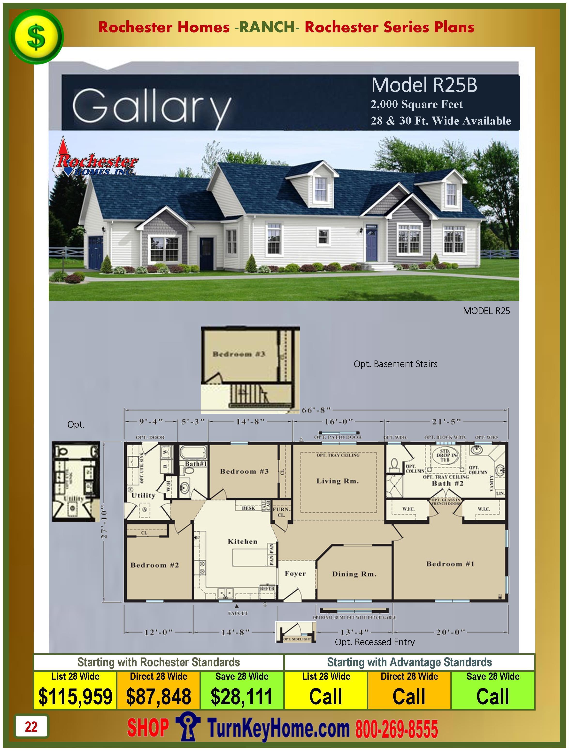 Modular.Homes.Rochester.Home.Inc.Gallery.R25B.Ranch.Plan.Price.Catalog.P22