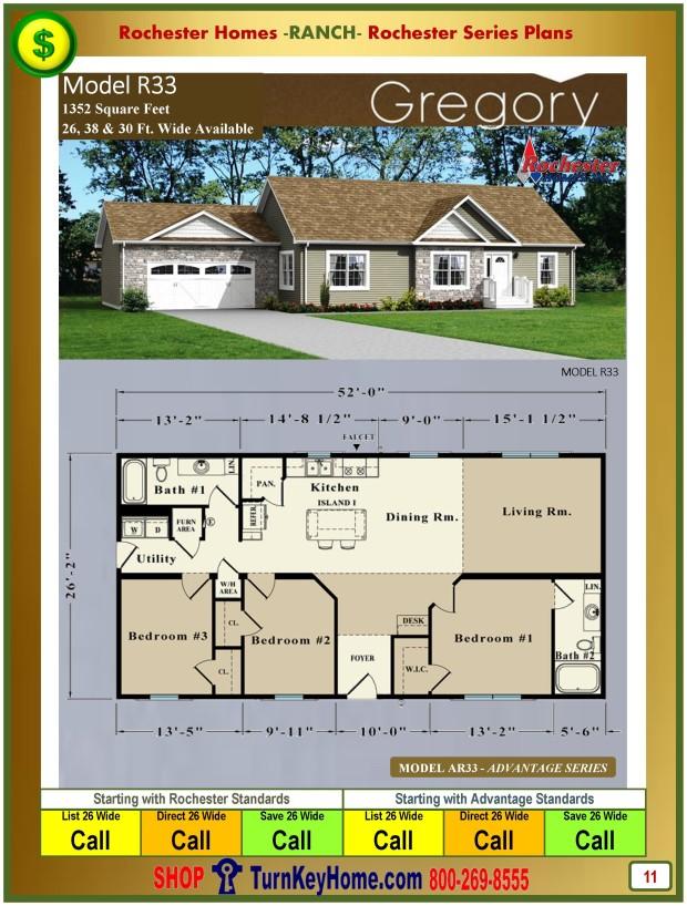 Home.Inc.Gregory.R33.Ranch. Modular.