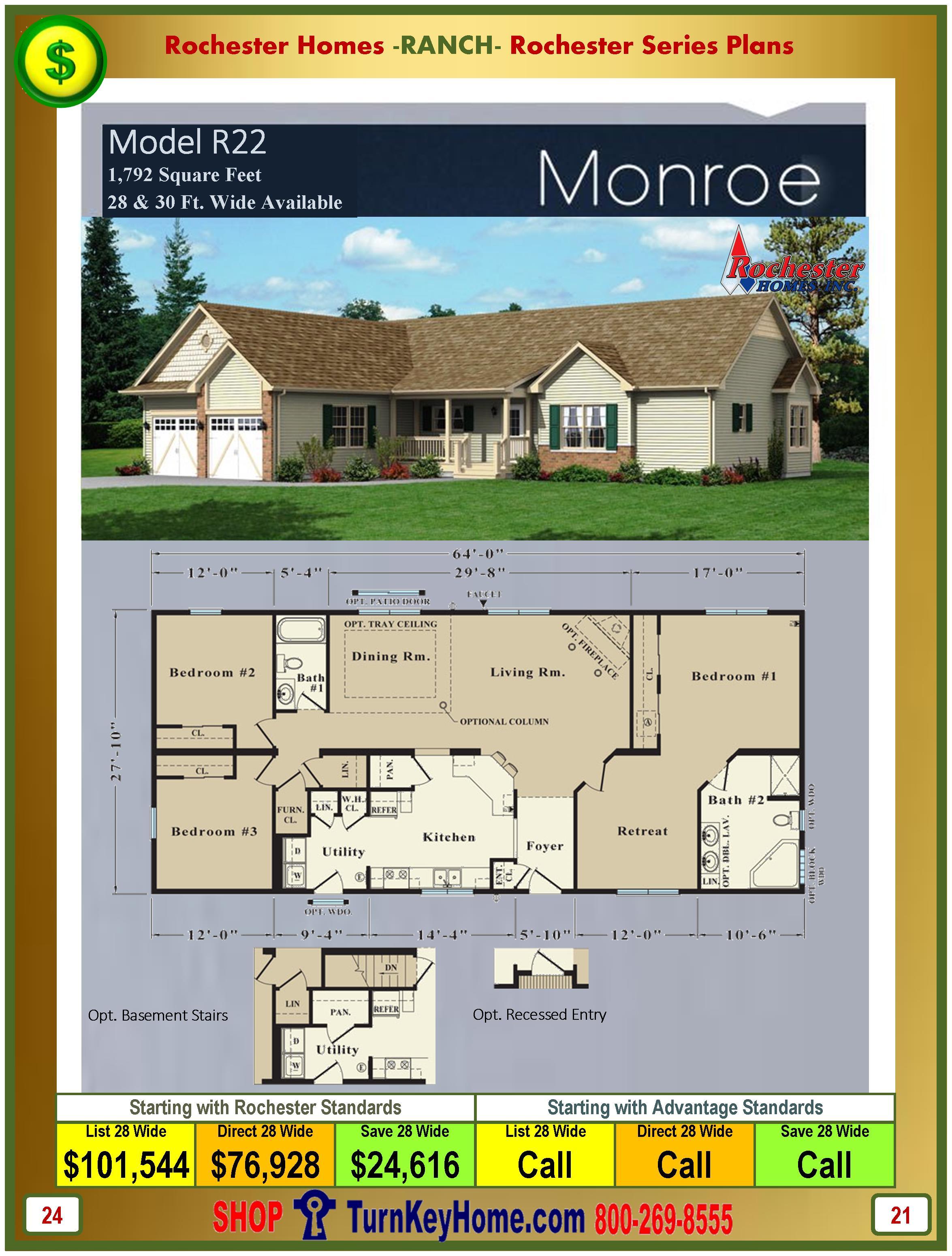 Modular.Homes.Rochester.Home.Inc.Monroe.R22.Ranch.Plan.Price.Catalog.P24.1215