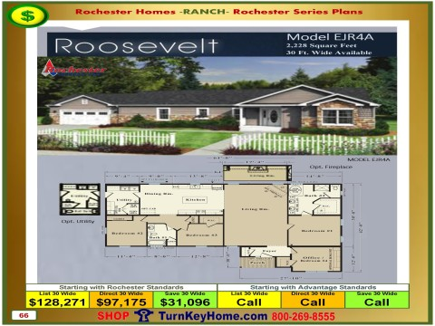 Modular.Homes.Rochester.Home.Inc.Roosevelt.EJR4A.Ranch.Plan.Price.Catalog.P66.1215.p