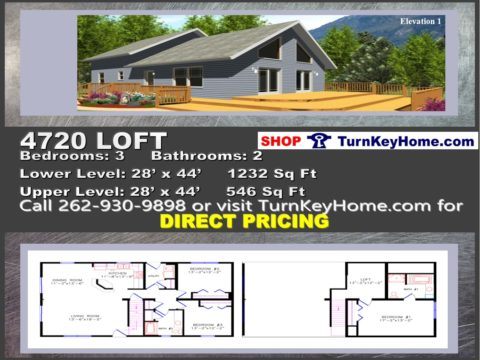 4720 loft e1 chlaet style home 3 bed 2 bath plan priced from wisconsin homes inc modular plan designs - Chalet Style Modular Home Plans