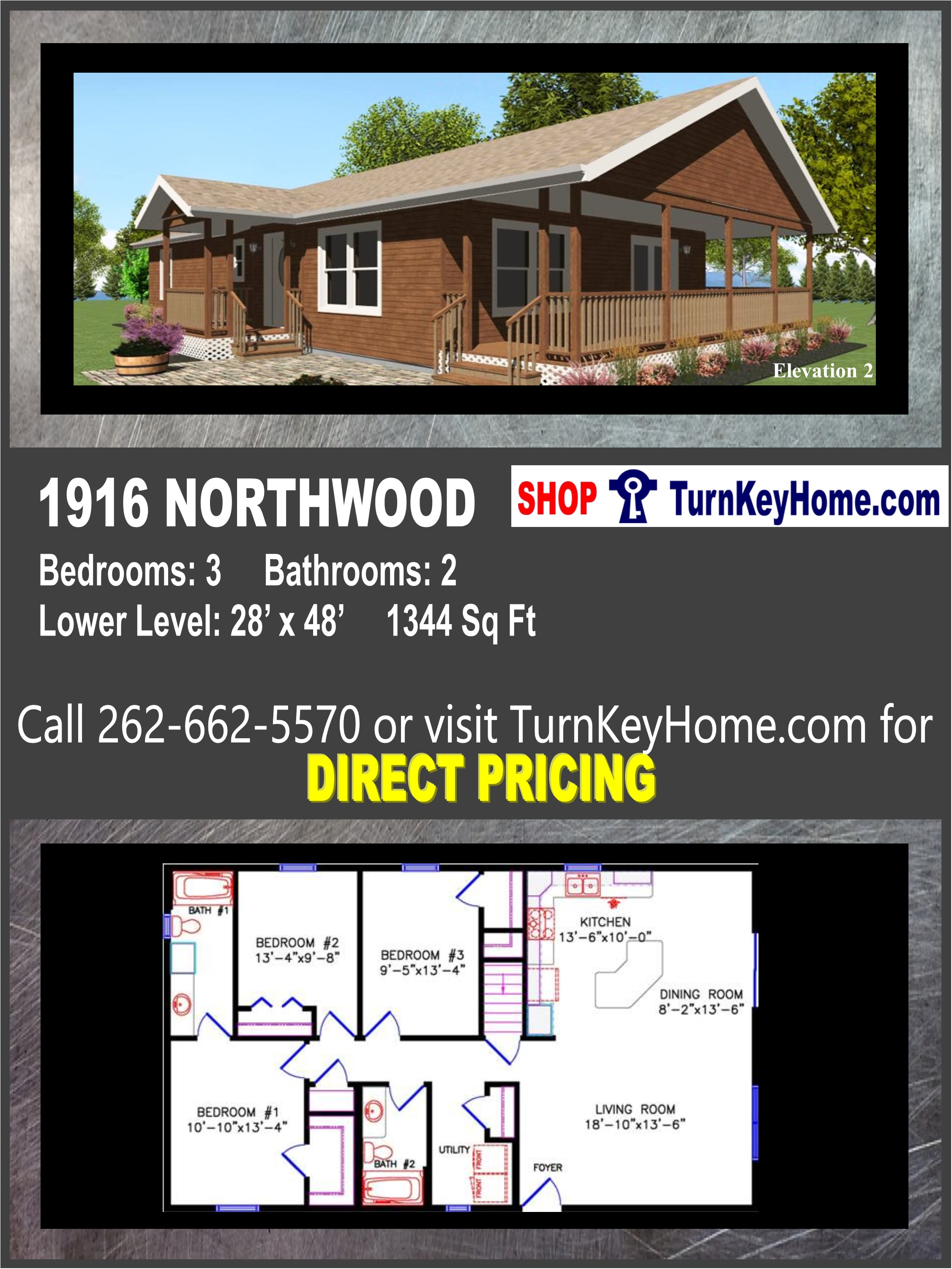 Fine 1916 Northwood E2 Cottage Style Home 3 Bed 2 Bath Plan Download Free Architecture Designs Remcamadebymaigaardcom